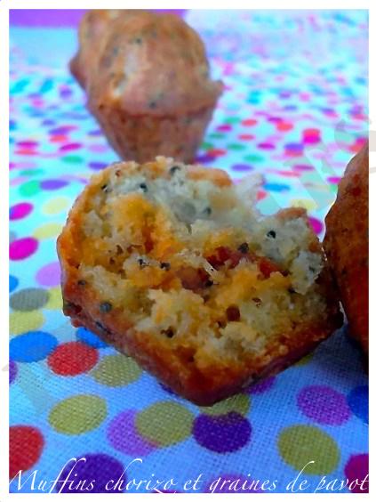 muffins-chorizo-et-graines-de-pavot