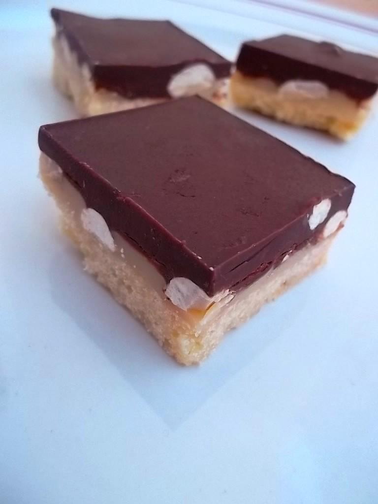 Millionaire's shortbread aux cacahu+¿tes2