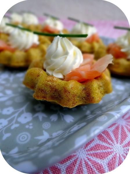 Bouchées aux épices indiennes et saumon.2