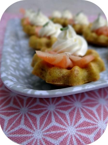 Bouchées aux épices indiennes et saumon3.1