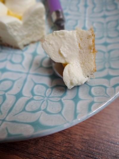 Cheesecake japonais, chantilly aux fruits de la passion2