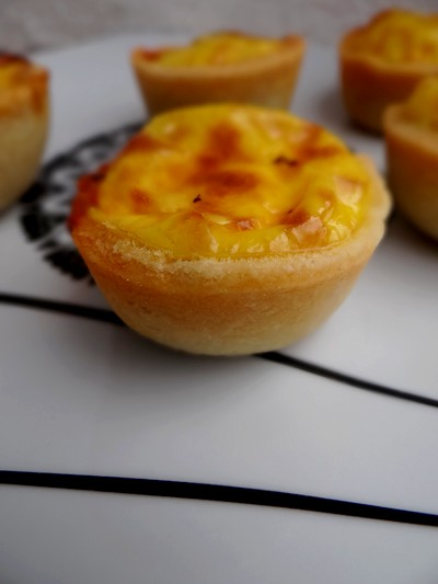 Mini tartelettes catalanes safran, chorizo et poivron grillé3